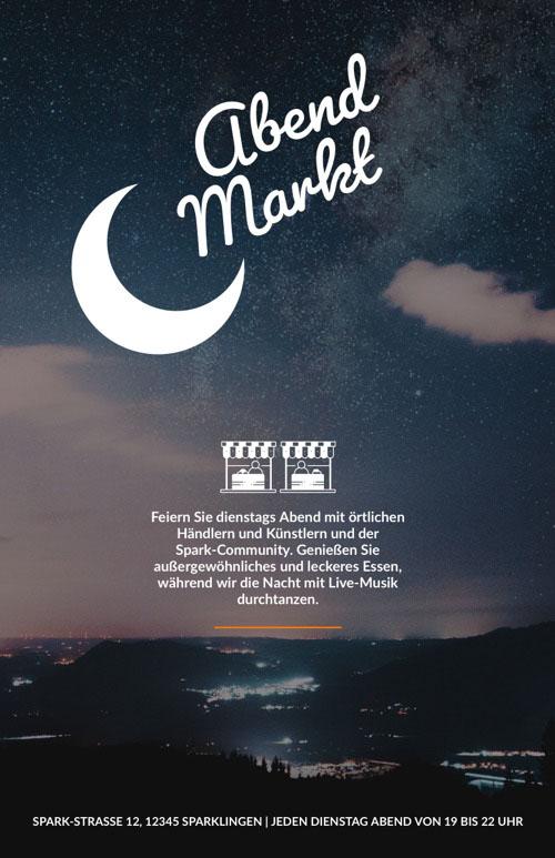 Markt Message de bonne nuit