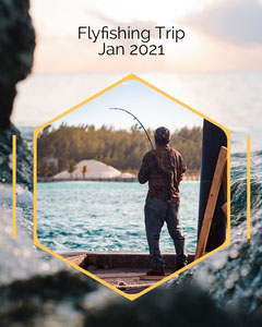 Fly Fishing Instagram Portrait Lake