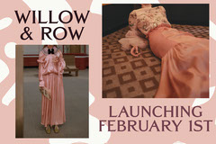 Pink Clothing Launch Postcard Launch