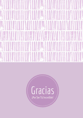 light purple textured thank you cards  Tarjeta de agradecimiento