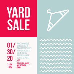 yard-sale Yard Sale Flyer