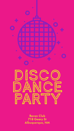 Disco<BR>Dance<BR>Party Club Party