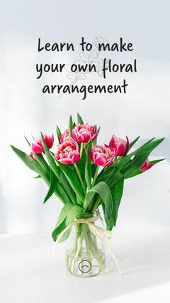 Floral Arrangements IG Story Flowers