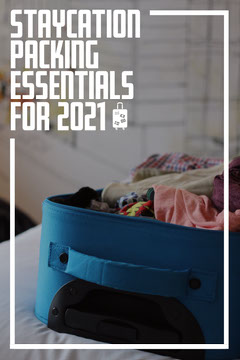 Staycation Packing Pinterest Guide