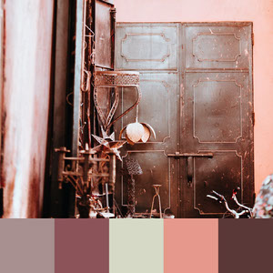 Retro Rustic Color Palette Instagram Square 101 combinaisons fantastiques de couleurs
