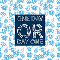 One day  or  day one 社群媒體圖
