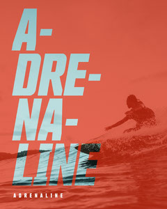adrenaline instagram portrait Wave