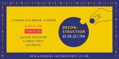 deconstruction seminar eventbrite banner Event Banner