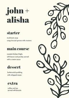 john + <BR>alisha Weddings