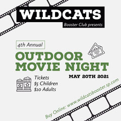 Movie Night Booster Instagram Square Fundraiser