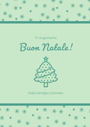 Buon Natale! Biglietto vacanze