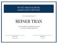 Reiner Tran Certificate