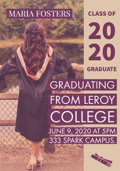 20<BR>20 Graduation