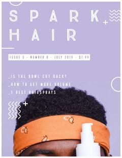 SPARK<BR>HAIR Hair Salon