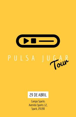 Tour Cartel de evento