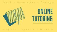 Yellow Online Tutoring Class Youtube Thumbnail Tutor Flyer