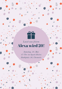 Alexa wird 20! Einladung