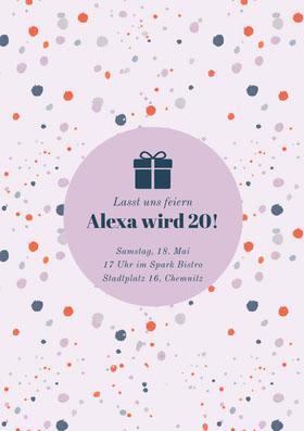 Alexa wird 20! Einladung zum Geburtstag
