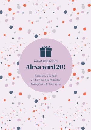 Alexa wird 20! Einladung zur Party