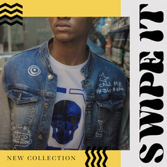 Swipe It Instagram Square New Collection