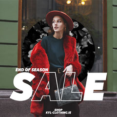 KYL Clothing IG Square Sale Flyer