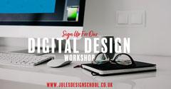Digital Design Workshop Facebook Post Workshop