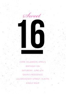 sweet16invitations