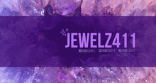 Purple Crystal Twitch Banner Banner per Twitch