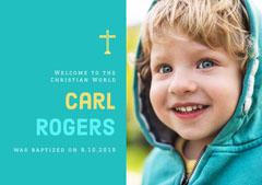 Carl Rogers Baptism