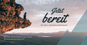adventure facebook ad Werbeflyer