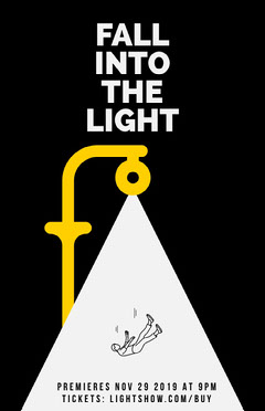 fall into the light play poster Play Poster