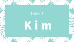 Kim Baptism