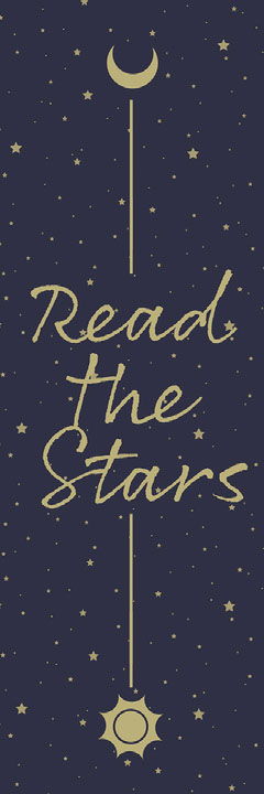 Read The Stars Bookmark Stars