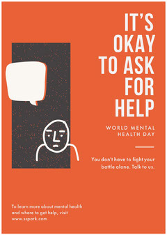 World Mental Health Day Flyer Health Posters