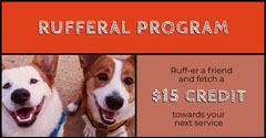 Rufferal Program Dog