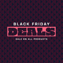 maroon and pink black friday deals instagram  Thanksgiving Sale