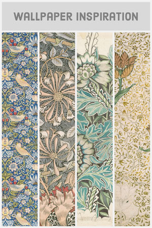 Various Colors Four Panel Pinterest Post Desktop Wallpaper