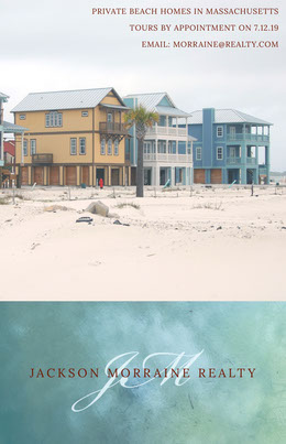 Beach House Real Estate Agency Flyer Prospectus immobilier