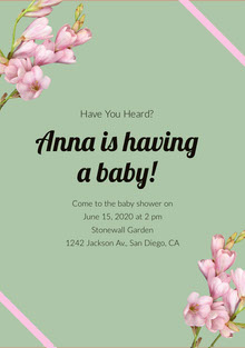 Anna is having a baby!