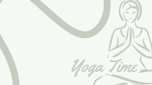 Pale Green Illustrated Yoga Zoom Background  Yoga Posters