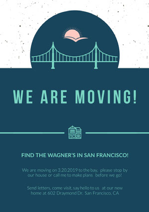 We are moving! Announcement