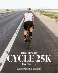 Cyclist Charity 25k cycle IG Portrait Sports