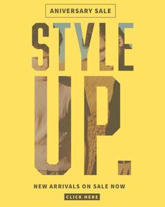Style Up Instagram Portrait Sale Flyer