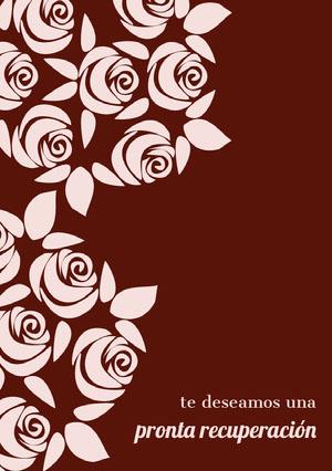 roses get well soon cards  Tarjeta de recupérate pronto