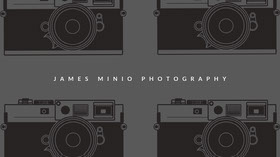 Black and White Photography Banner Banner per YouTube