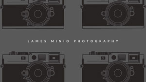 Black and White Photography Banner Cabecera del canal YouTube