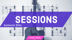 Violet and White Sessions Banner Banner