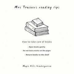 Book Care Teacher