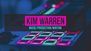 Neon Music Production Youtube Channel Art Music Banner