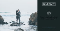 Grey and Cold Toned Photo Session Giveaway Facebook Banner Giveaway